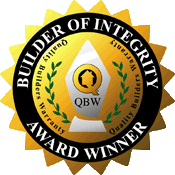 Builder of Integrity Award Winner